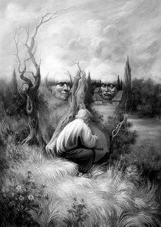 oleg shuplyak illusion art 19. Read Full article: http://webneel.com/oleg-shuplyak-illusion-painting | more http://webneel.com/paintings . Follow us www.pinterest.com/webneel