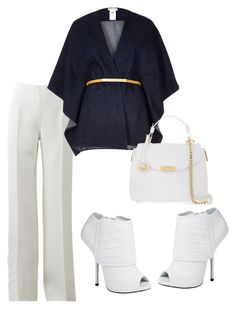 """Untitled #1942"" by styledbycharlieb ❤ liked on Polyvore featuring Michael Kors, River Island, Giuseppe Zanotti, Versace, women's clothing, women, female, woman, misses and juniors"