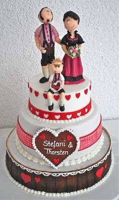 Bayrische Hochzeitstorte