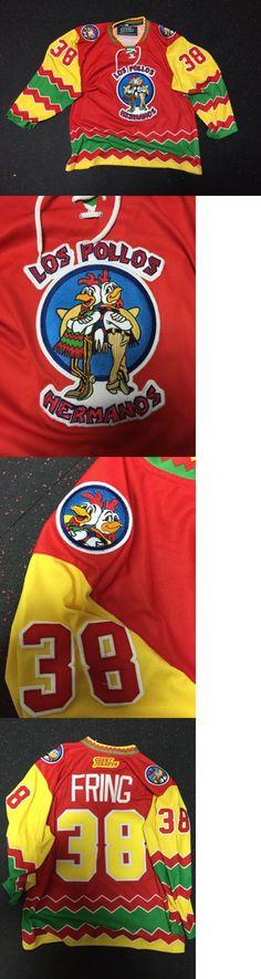 Men 159122: Los Pollos Hermanos Custom Hockey Jersey Gus Fring Breaking Bad Walter White -> BUY IT NOW ONLY: $105 on eBay!