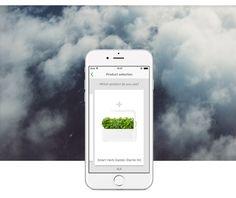 Urban gardening app for Click & Grow on Behance
