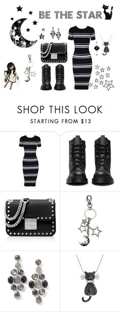 """""""Be the Star"""" by flowerbud77 on Polyvore featuring moda, MINKPINK, Dr. Martens, MICHAEL Michael Kors, Ippolita, Amanda Rose Collection, Movado, contest, friends y giveaway"""