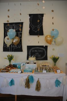 Little Prince themed birthday party table scape_Suburban Bitches