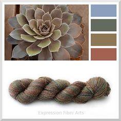 Succulent - Expression Fiber Arts