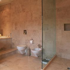 This limestone is another idea - looks really warm and inviting