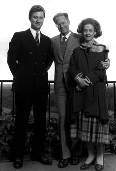 kingphilippepictures:  Prince (now King) Philippe with his uncle King Bauduoin and aunt Queen Fabiola
