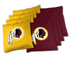 NFL Washington Redskins XL Bean Bag Set NFL Washington Redskins