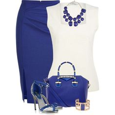 Love the angled gathering on the skirt and the square neckline of the top. Great color!