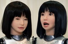 HRP 4C, Robot that can sing [with video] Freaky!