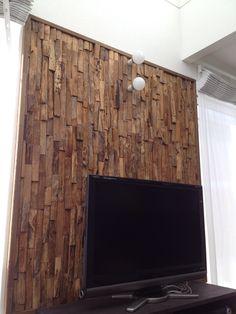 TV wall Texas large
