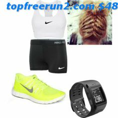 Nike 'Free Running Shoe (Women) available at com In black & pink Outfit Discount Nike Shoes Cheap, Cheap Nike, Pink Nikes, Black Nikes, Nike Free Outfit, Nike Neon, Nike Free Runs, Running Shoes, Nike Women