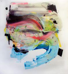 adam dodd place combo (0) acrylic and graphite on vellum 48″ x 56″ 2016