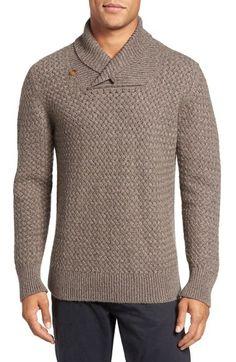 Billy Reid Basketweave Cashmere Sweater, M