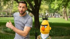 Image from http://mashable.com/wp-content/uploads/2014/05/zachary-levi-and-sesame-street-walking.jpg.