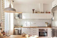 西班牙 24 坪鄉村風木質感公寓 | 設計王