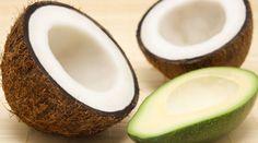 Avocado and coconut in skinkind