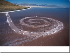 spirale Jetty de Robert Smithson