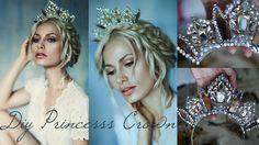 {DIY Princess Crown Using Necklace}