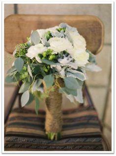 Maravillosos ramos de novia con flores ideales para el invierno.