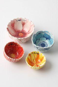 $36  Beautiful measuring cups