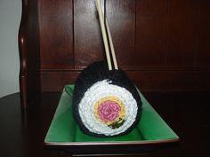 Sushi Roll Scarf