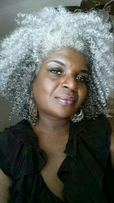 Gorgeous...Silver Fox, Love the hair!!!