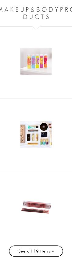 """M A K E U P & B O D Y P R O D U C T S"" by adorablequeen on Polyvore featuring beauty products, makeup, lip makeup, lipstick, lips, fillers, beauty, lime crime lipstick, lime crime and cosmetics"
