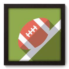 Quadro Decorativo - Futebol Americano - 027qde