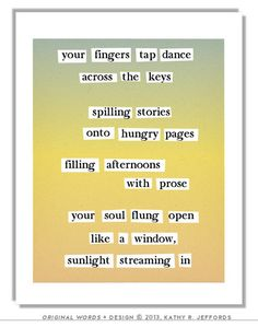 Write(: