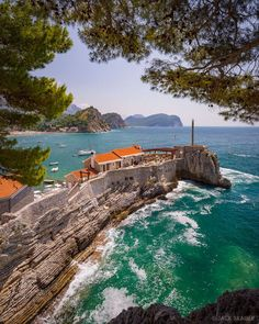 Petrovac Petrovac Montenegro Mountain Photography By Mountain Photography, Travel Photography, Places Around The World, Around The Worlds, Amalfi, Bósnia E Herzegovina, Places To Travel, Places To Visit, Montenegro Travel