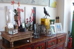 a display at Diving Cat Studio Gallery in Phoenixville http://www.divingcatstudio.com/