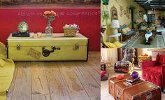 Resultado de imagem para decoração com moveis antigos e modernos