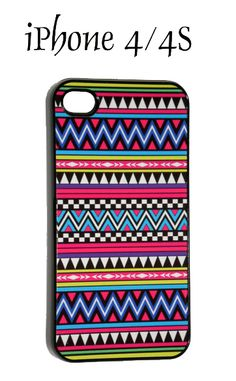 iPhone 4 / 4S Colorful Native American Tribal