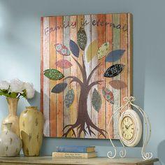 Family is Eternal Canvas Art Print | Kirklands