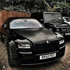 Rolls royce and mercedes benz g wagon