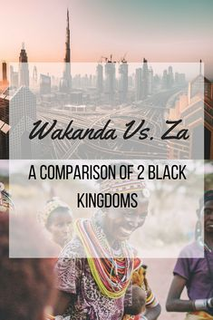 Black Panther's Kingdom of Wakanda Vs. The Griot's Kingdom of Za #blackpanther #wakanda #wakandaforever #blackhistory365 #blackhistorymonth #blackhistory #hbcu