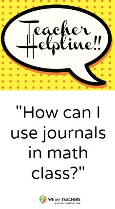 Tips for Using Interactive Journals in Math Class #weareteachers