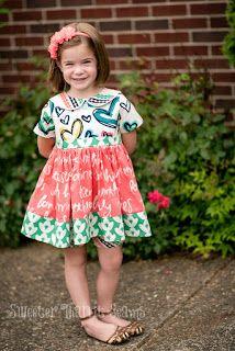 the Jocole blog: Summer Blog Tour Endless Dress in Happy Home