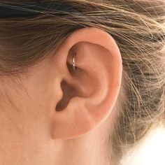 "4,818 Likes, 67 Comments - Maria Tash (@maria_tash) on Instagram: ""You probably already have your lobes pierced.. how about your rook? Hoops hang off the rook in a…"" #PlainGoldJewellery"