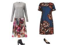 How to wear florals, autumn trend florals