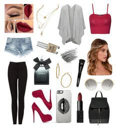 """Babe"" by natali-stylinson on Polyvore featuring beauty, Lemaré, Zara, WearAll, Giuseppe Zanotti, Lulu*s, Lipsy, Cutler and Gross, Bony Levy and Torrid"