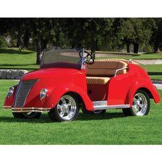 Sweet golfcart!