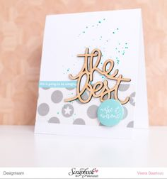 Cards with Freckled Fawn's July embellishment kit