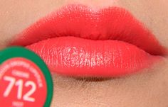 Revlon Moondrops Lipstick in Hot Coral - Lime Crime Suedeberry Dupe