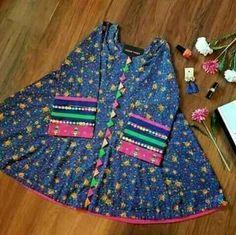 Girls Dresses Sewing, Stylish Dresses For Girls, Frocks For Girls, Baby Girl Dress Design, Baby Girl Dress Patterns, Dress Girl, Simple Pakistani Dresses, Pakistani Dress Design, Simple Frock Design