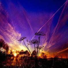 EXPLOSIVE SUNSET_Iglinsky District, Republic of Bashkortostan, Russia