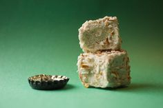 Guinness marshmallows rolled in crushed pretzels  by wondermade