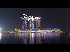 One Minute in Singapore - Episode 1 - Tiny Travel Hack - YouTube Singapore City, Marina Bay Sands, Travel Tips, Hacks, Youtube, Life, Travel Advice, Travel Hacks, Youtubers