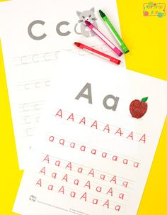 Alphabet Tracing Worksheets for Kids