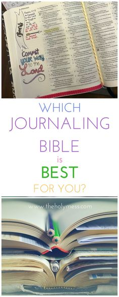 Bible Journaling|Best Journaling Bible|Supplies|Bible Study|Bible Art|
